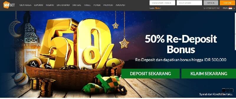 188Bet Indonesia: Promosi Dan Bonus Tiada Habisnya