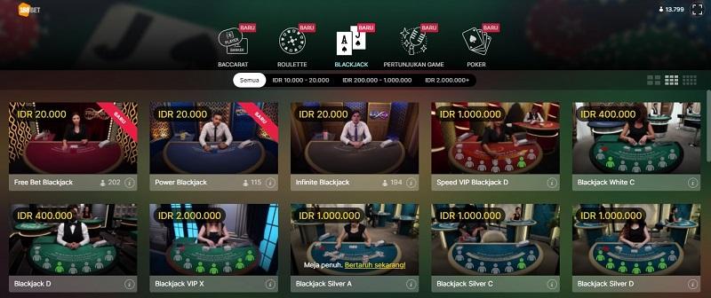 Cara Main Blackjack 188Bet 2020 Paling Kini