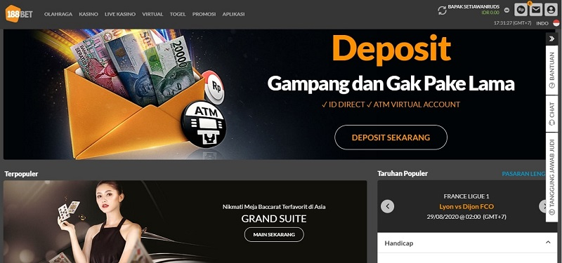Cara Main Blackjack 188Bet 2020