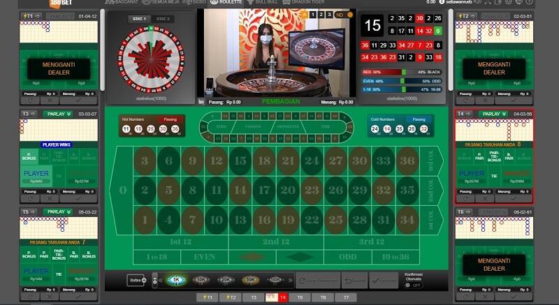 Roulette Games Online Milik 188Bet