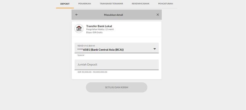 Cara Cepat dan Tepat Menyetor 188Bet Bandar88 Deposit - Transfer Bank Lokal