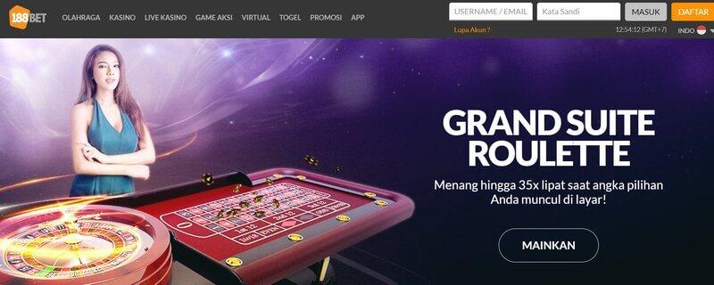 Nikmati Game 188Bet Online Casino Kelas Dunia yang Paling Badai - Live Kasino