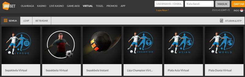 Taruhan Virtual 188Bet Esport Seru dan Layak Dijajal